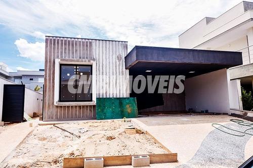 Casa  Em Condomínio 3 Suítes Para Venda No Bairro Swiss Park Em Campinas-cf01273 - Cf01273 - 69022294