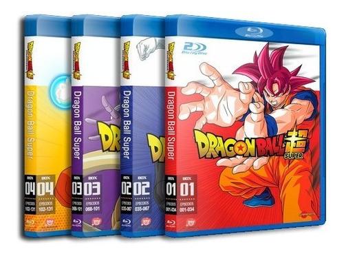 Dragon Ball Super + Filme Broly - Completo Dublado Blu-ray