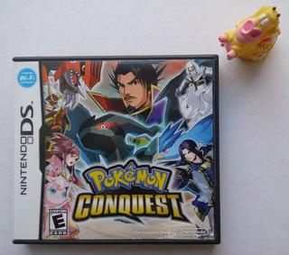 Pokémon Conquest Nintendo Ds * Mundo Abierto Vg *