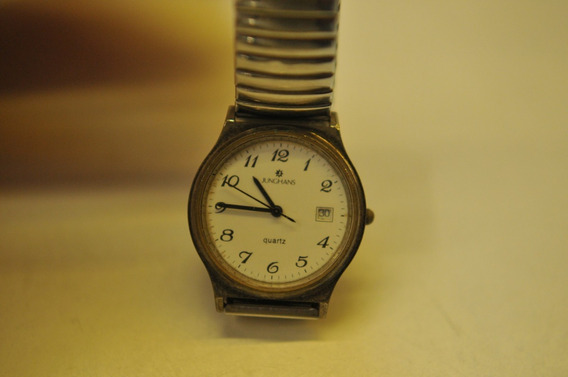 Relógio De Pulso Junghans Quartz Funcionando Perfeitamente