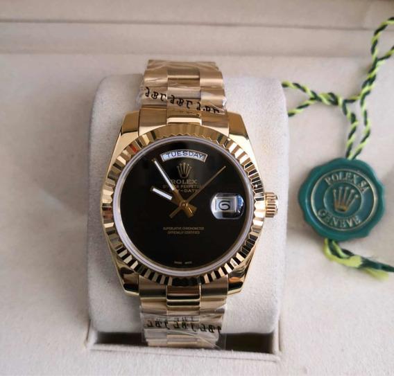 Relógio Masculino Dourado 38mm