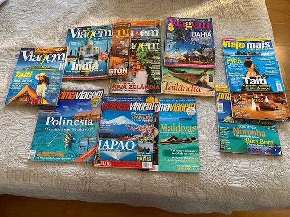 Revista Viagem E Turismo Várias Edições