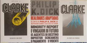 Arthur Clarke + Pillhip Dick Kit 3 Livros Ficção Frete Gráti