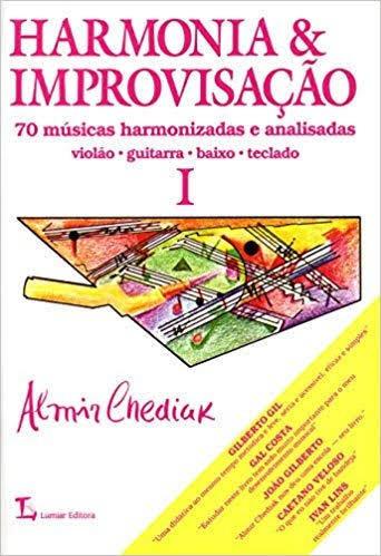 Livro Harmonia E Improvisação Almir Chediak