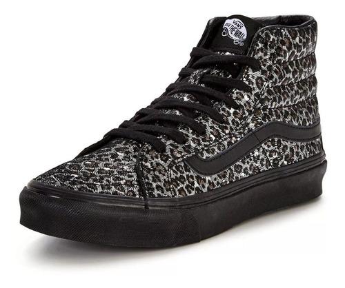 Zapatillas Bota De Vans Sk8 Slim Metal Mujer - $ 2.390