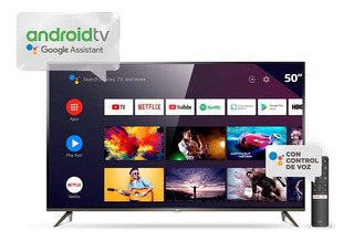 Android Tv Tcl L50p8m Google Assistant Uhd 4k