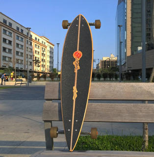 Longboard Original Pintail 37 - O Mais Barato Do Brasil!!!