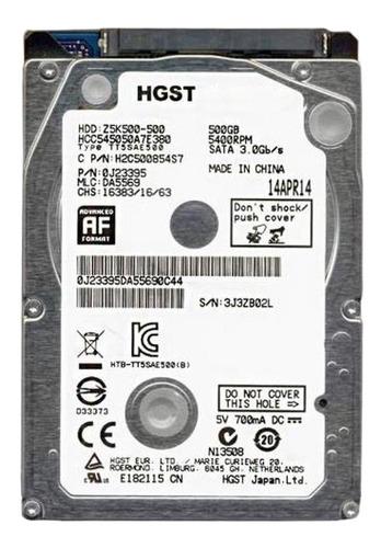 Disco duro interno Hitachi CinemaStar Z5K500 HCC545050A7E380 500GB