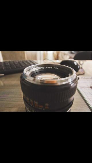Lente Canon Fd 50mm F1.4