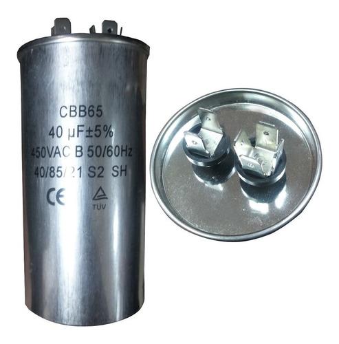 Capacitores De 55 Mf En 370/440 Vac