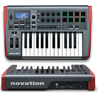 Controladores Midi Novation Impulse 25 Usb 25 Teclas