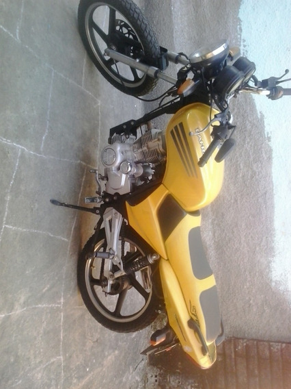 Moto Dafra Speed 150 Amarela Único Dono