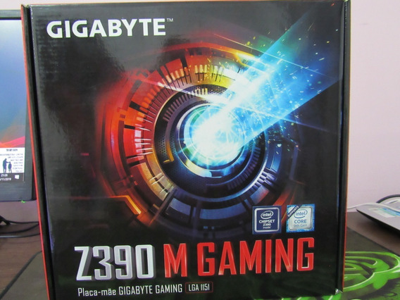 Kit Gamer M.2e Ssd Corsair Z390 Gygabite Gamimg Rgb Walter