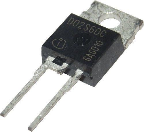 Diodo Pth D02s60c Isolado - To220-2