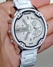 1d3be9ee5dbf Reloj Diesel Dz 4201 Blanco - Relojes en Mercado Libre Chile