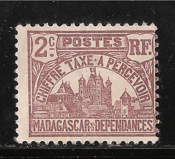 Madagascar - Palacio Real En Antananarivo - 1908