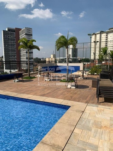 Imagem 1 de 15 de Apartamento Novíssimo Varanda Gourmet !!! 3 Suítes, 2 Vagas No Campo Bel0 !!!! - Cf35202