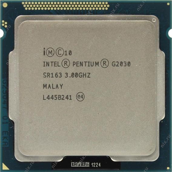 Processador G2030 Sr163 3.00ghz Sem Cooler 100%