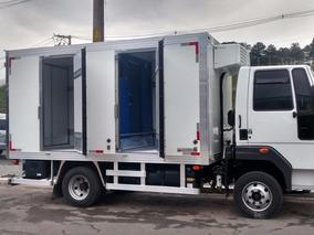 Ford Cargo 816 Bau Refrigera E Congela 2017