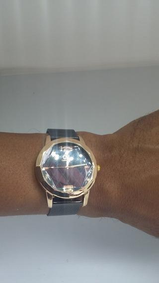 Relógio De Pulso Feminino Luxo 12x S/ Juros