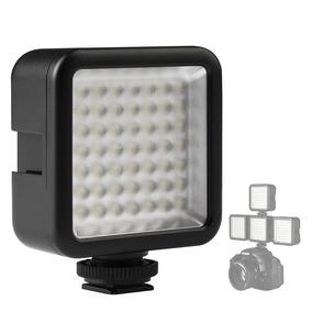 Iluminador Led Ulanzi 49 Leds Celular Canon Regulagem De Luz