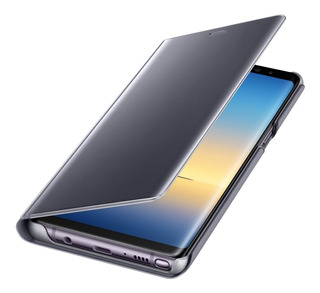 Funda Note 8 Original Clear View Flip Cover Samsung Galaxy Note 8