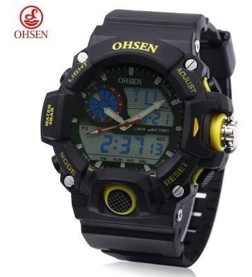 Relógio Ohsen Ad 2808 Masculino 5atm
