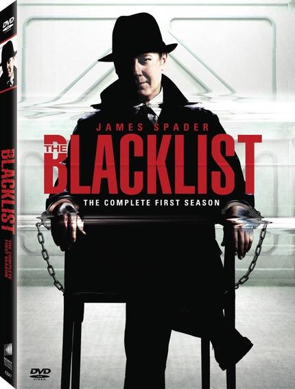 Dvd The Black List 1ª A 4ª Temporada Dublado