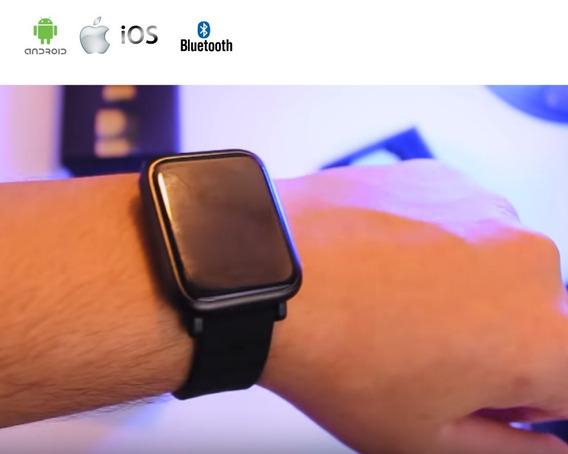 Relógio Masculino Feminino Digital Smartwhatch Android Ios