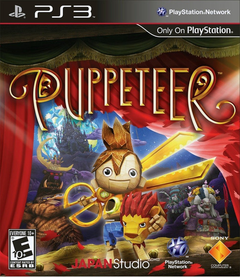 Puppeteer - Ps3 - Envio Hoje