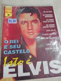 Elvis Poster O Rei E Seu Castelo
