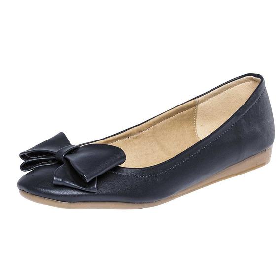 Zapato Moño Dama Gilardi 7106 Marino 22-26 071-576 T4