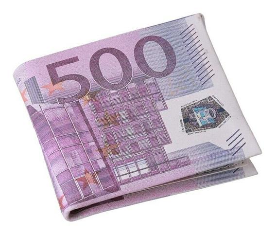 Cartera De Caballero Moda Euro