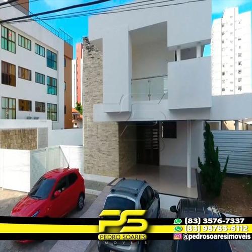 Casa Comercial Para Alugar, 450 M² Por R$ 15.000/mês - Manaíra - João Pessoa/pb - Ca0568