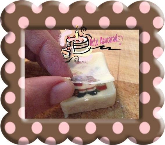 25 Acetatos Transfer Para Chocolate Blanco Chocotransfer