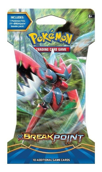 Coleccion Cartas Xy Breakpoint Sleeved Booster Pokemon