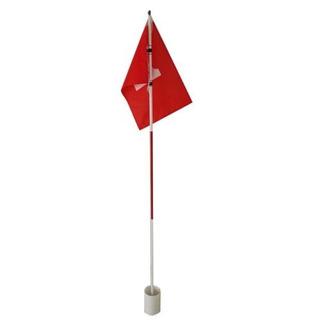Práctica Golf Hoyo Polo Copa Bandera Palo Patio Poniendo Ver