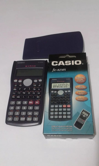 Calculadora Cientifica Casio Original Fx-82ms