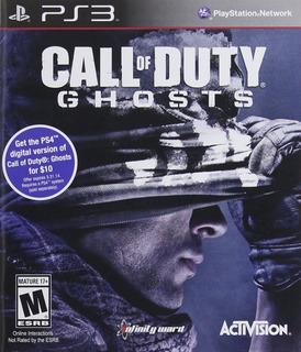 Call Of Duty Ghosts Ps3 Juego Original Fisico Sellado Full