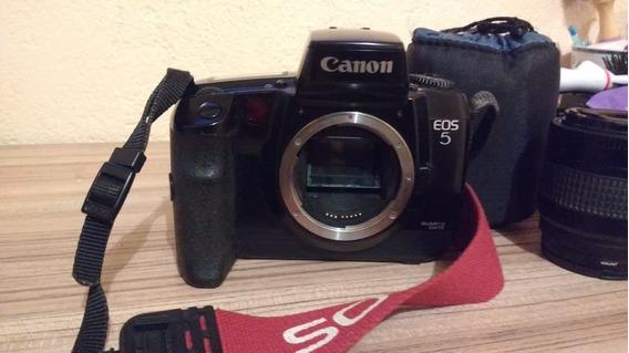 Câmera Analógica (de Filme) Canon Eos 5 ( Usado )