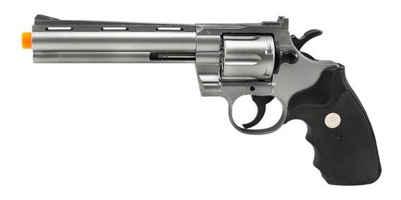 Revolver De Airsoft Spring G36s Prata 6mm - Galaxy