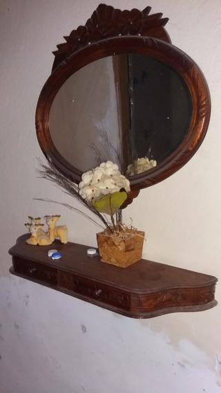 Aparador Aéreo + Espelho (madeira)