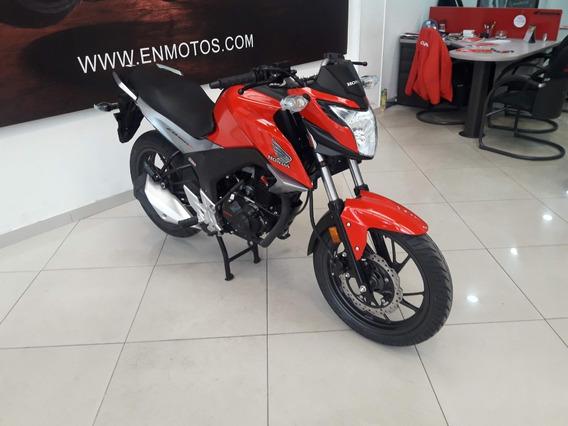 Honda Cb 160 Std Dlx Roja Modelo 2021