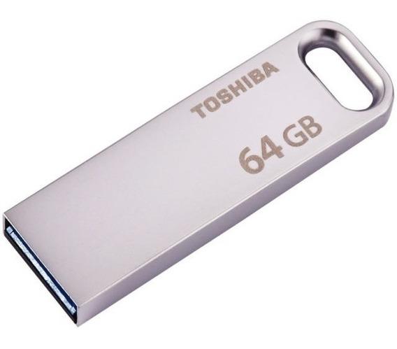 Pendrive Toshiba 64gb Usb 3.0 U363 Frete Grátis