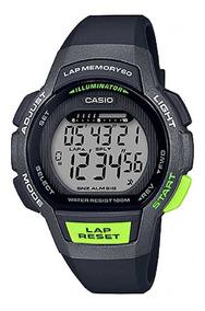 Relógio Casio Feminino Lap Memory60 Standard Lws-1000h-1avdf
