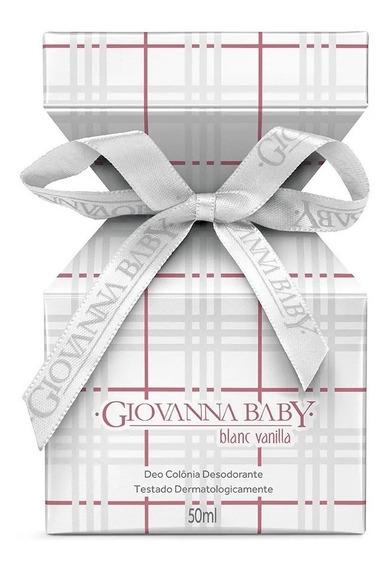 Giovanna Baby Blanc Vanilla Deo Colônia Desodorante 50ml