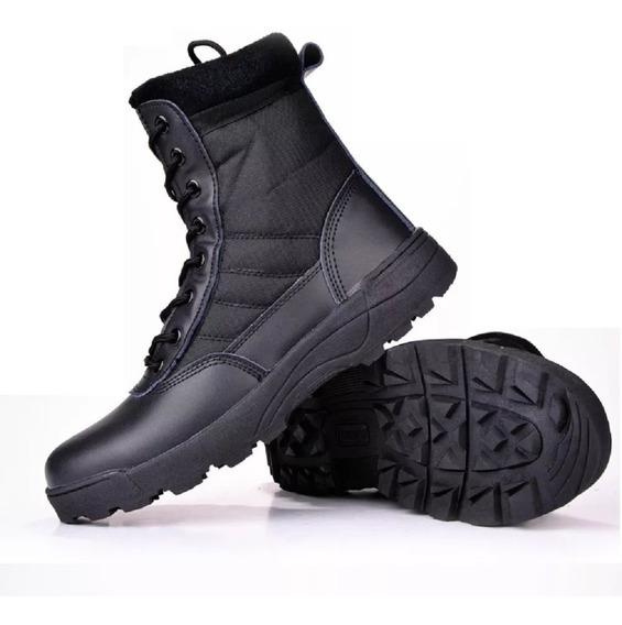 Zapatillas Botas Swat Outdoor Carabineros Táctica Caza / 3c