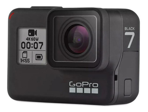 Filmadora Gopro Hero 7 Black, 4k, Wi-fi, Gps