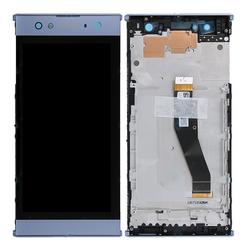 Imagem 1 de 3 de Display Lcd Sem Aro Sony Xperia Xa2 Ultra Dual H4213 Azul