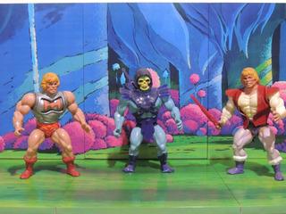 Diorama Para Tus Figuras De Acción Heman Skeletor Beastman